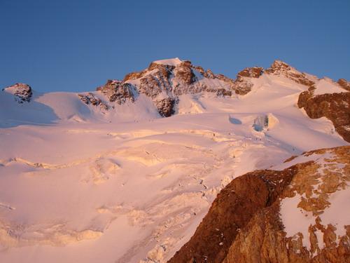 Meije orientale vue du refuge de l'aigle - 2007 - © Régis Hocdé