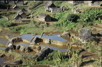 Hauts-plateaux - Madagascar - © Régis Hocdé